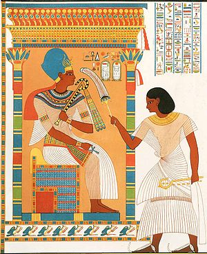 Viceroy of Kush - Amenhotep called Huy King's Son of Kush under Pharaoh Tutankhamun