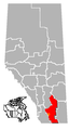 Lethbridge, Alberta Location.png