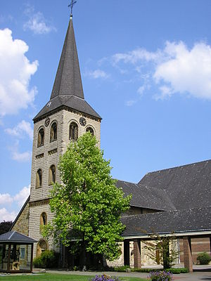 Oelde - St. Vitus church in Oelde-Lette