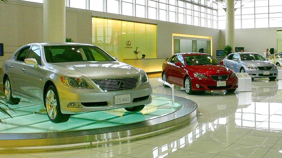 Lexus Automobile Lineup 2007