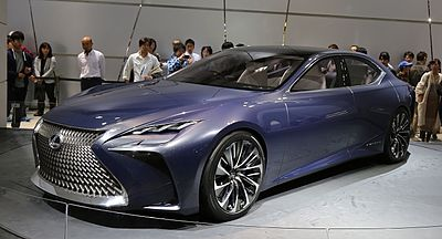 Lexus LF FC Concept At The 2015 Tokyo Motor Show
