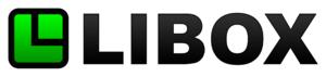 LIBOX - Image: Libox.logo.black