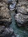 Liechtensteinklamm Black and White rocks (15424992618).jpg