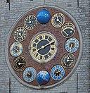 Lier Zimmertoren Clock detail 01