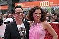 Life Ball 2014 red carpet 008 Sandra König Peter L Eppinger.jpg