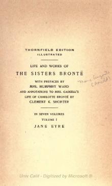 Life and Works of the Sisters Bronte - Volume I.djvu