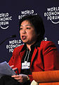 Lim Hwee Hua at the Asia Forum - Risks - World Economic Forum on East Asia 2009.jpg