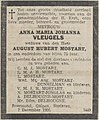 Limburger Koerier vol 081 no 288 obituary Anna Maria Johanna Vleugels.jpg