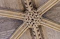 Lincoln Cathedral, Angel Choir Roof Boss, 14th from E. (38956087694).jpg