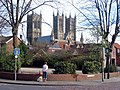 Lincoln Cathedral from the north-west - geograph.org.uk - 964884.jpg