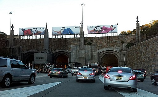 Lincoln Tunnel New Jersey Entrance