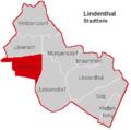 Lindenthal Stadtteil Weiden.PNG