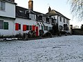 Lingering snow in Shalford village centre - geograph.org.uk - 1631681.jpg