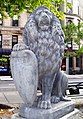 Lion statue in Abe Lebewohl Park.jpg
