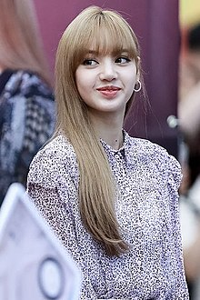 Lisa Manoban at a Black Pink fansign event at COEX's Live Plaza in Seoul on August 19, 2018 (1).jpg