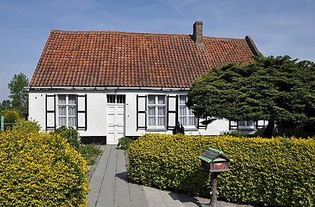Old Flemish house