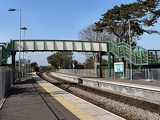 Llantwit Major railway station - Image: Llantwit Major railway station in 2008