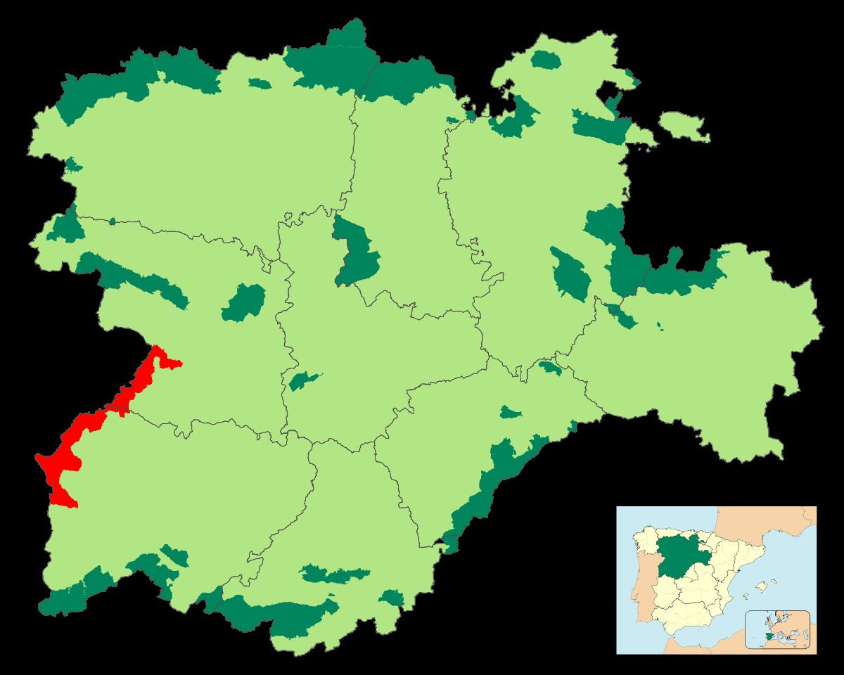 Archivo:Localización - Arribes del Duero.SVG - Wikipedia, la ...
