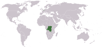 International Association of the Congo - Image: Location Congo Free State