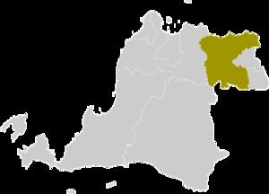 Tangerang Regency - Image: Locator kabupaten tangerang