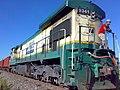 Locomotiva de comboio de manutenção de via que passava sentido Boa Vista na Variante Boa Vista-Guaianã km 203 em Itu - panoramio.jpg