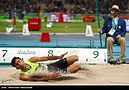 Long jumper Mohammad Arzandeh at the 2016 Olympics 04.jpg