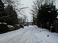 Looking from Wade Court Road into a snowy Elm Road - geograph.org.uk - 1672148.jpg