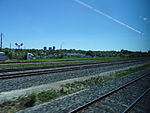 Looking out the left window on a trip from Union to Pearson, 2015 06 06 A (408) (18022438673).jpg