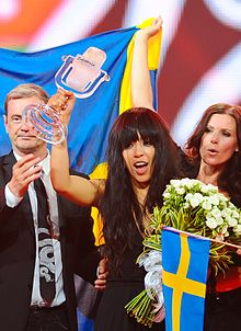 Loreen l'any 2012