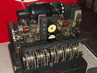 Lorenz cipher - A Tunny (Lorenz) machine on display at the National Cryptologic Museum, Fort Meade, Maryland, USA.