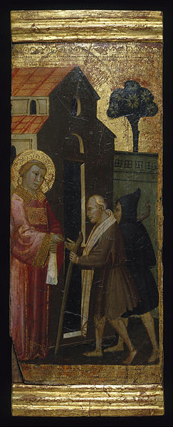 File:Lorenzo di Niccolò - Saint Lawrence Distributing Alms to the Poor - Google Art Project.jpg