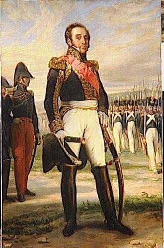 Louis-Gabriel Suchet - Guérin's portrait of Marshal Suchet