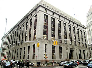 New York County District Attorney - Image: Louis J. Lefkowitz State Office Building 80 Centre Street
