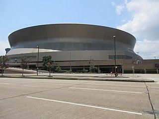 Caesars Superdome Stadium in Louisiana, United States