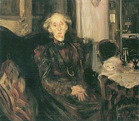 Porträt der Mutter Rosenhagen