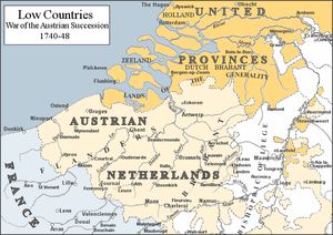 Low Countries 1740