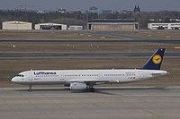 D-AISP - A321 - Lufthansa
