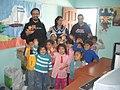 Luis falcon in Santiago del Estero school 2006.jpg