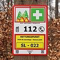 Luxembourg, point de secours forêt domaniale Grünewald SL-022.jpg