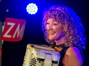 Lydie Auvray - Lydie Auvray, Zelt Musik Festival 2015 in Freiburg, Germany