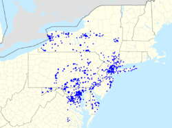 MT Bank Wikipedia - Chase bank locations map