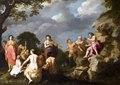 Målning. Musiktävlingen mellan Apollon och Marsyas. C Van Poelenburgh - Hallwylska museet - 86741.tif