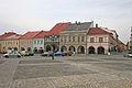 Měšťanské domy čp. 58 - 61, 99 Valdštejnovo náměstí Jičín.JPG