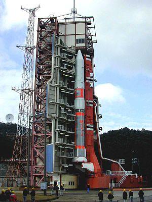 M-V with Astro-E satellite.jpg