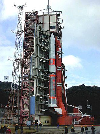 M-V - M-V rocket with the ASTRO-E satellite