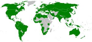 MARPOL 73/78 - MARPOL 73/78 ratifying states