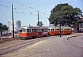 MBTA 3032 and 3034 at Arborway in 1967.jpg