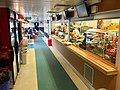 "MF ""Selbjørnsfjord"" car ferry on Halhjem-Våge connection, Hordaland, Norway. Photo of interior 2018-03-19. Snack and food sale in saloon (kiosk) A.jpg"