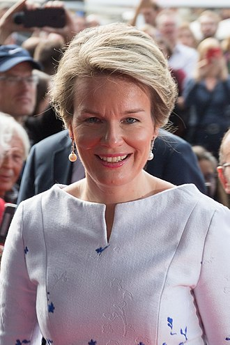 Queen Mathilde of Belgium - Queen Mathilde in 2017