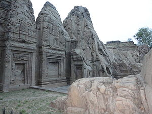 Kangra district - Rock Cut Temple, Masroor